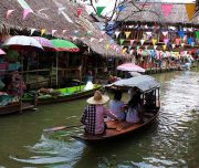 Khlong Lad Mayom Floating Market