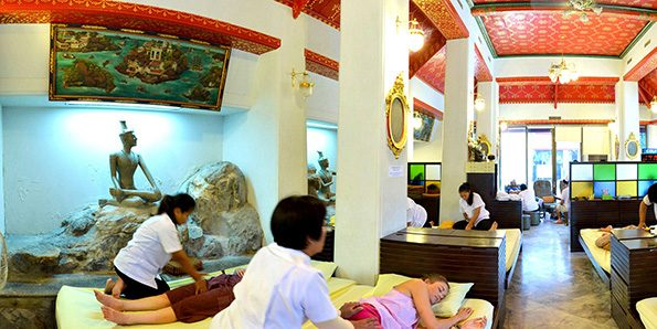 Wat Pho, massage