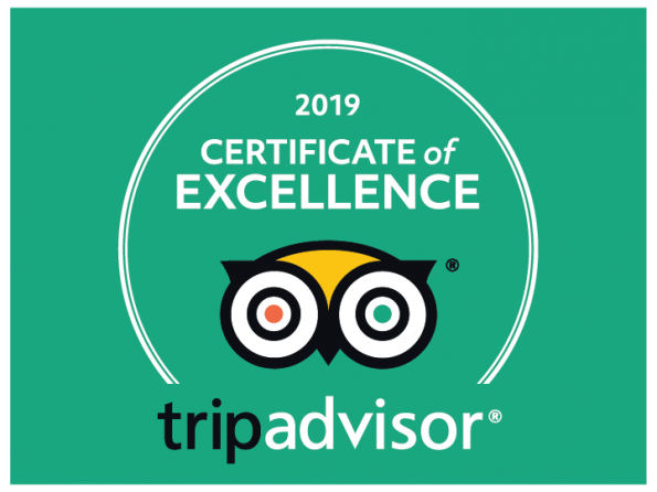 Explorenique : 2019 Certificate of Excellence