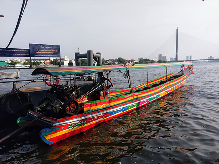 Bangkok long-tail boat